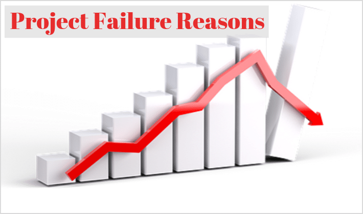 project failure reasons